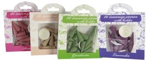Incense cones Gardenia