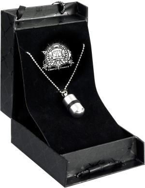 Jewel bullet silver