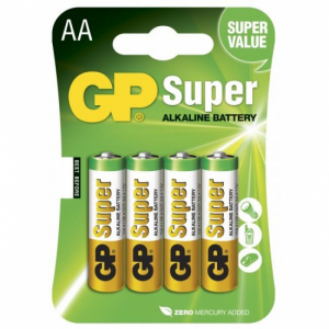 GP Batteri R6 AA 4p