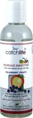 Smoothie blueberry peach