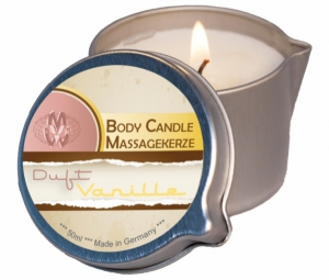 Bodymassage candle vanilla