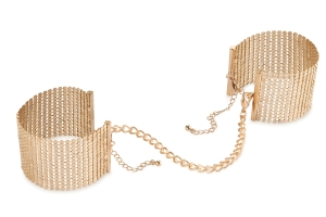 Désir metallic cuffs gold