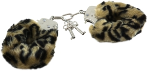 Love cuffs leopard