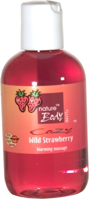 Massage Wild strawberry 100 i gruppen MASSAGE / Alla massageprodukter hos Lustjakt Svenska AB (60047)