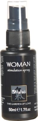 Shiatsu woman spray