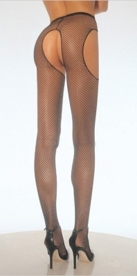 Pantyhose black net