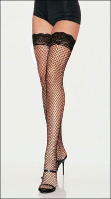 Net stockings black