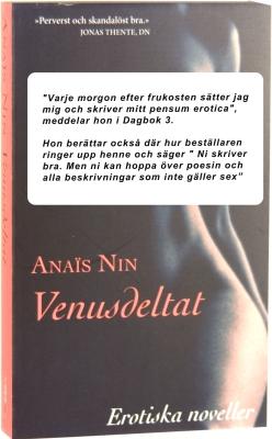 Venusdeltat Erotiska noveller