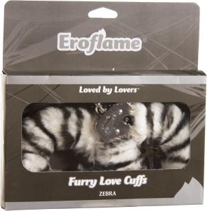 Love cuffs zebra