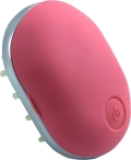 Massage brush pink