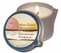 Bodymassage candle caramel