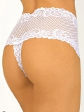 Thong white one size