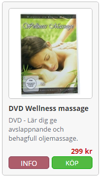 dvd wellness massage