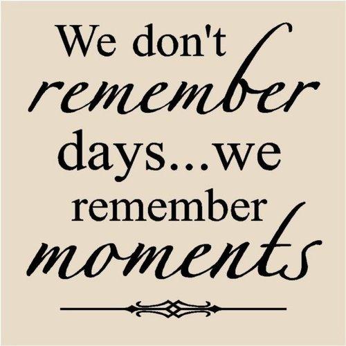 Skapa fina minnen