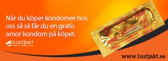 Köp kondomer hos Lustjakt och få en gratiskondom