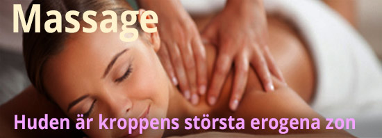 Massage är ofta ett perfekt förspel