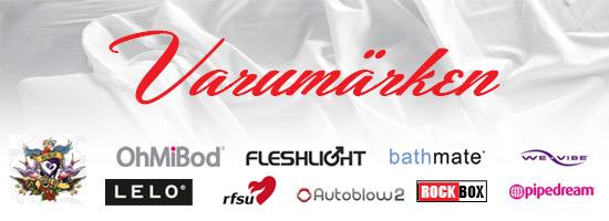 Varumärken LELO Fleshlight sexleksaker