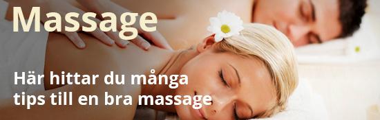 Massage fokuserar på kroppens största erogena zon