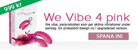 We vibe 4. Produkten för par!