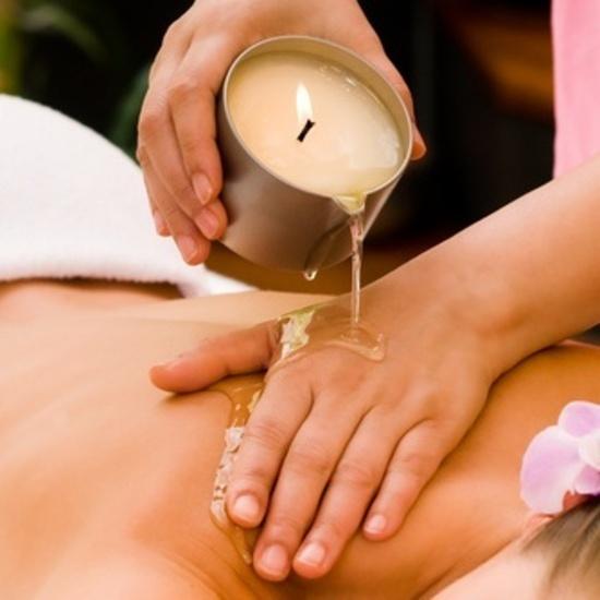 Massageljus för het massage
