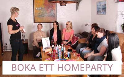 Boka ett homeparty med Lustjakt